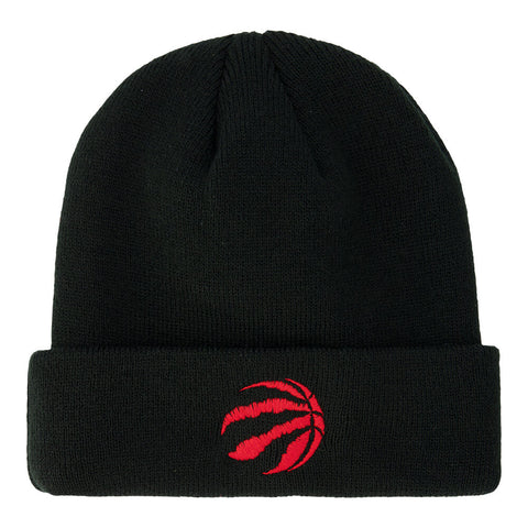 OUTERSTUFF YOUTH TORONTO RAPTORS CUFFED KNIT HAT BLACK