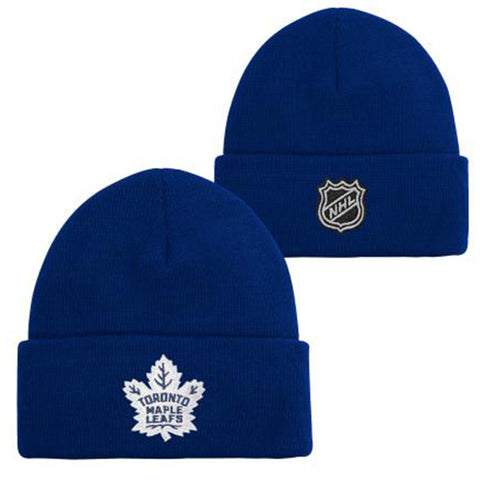 OUTERSTUFF YOUTH TORONTO MAPLE LEAFS CUFFED KNIT HAT TEAM COLOUR