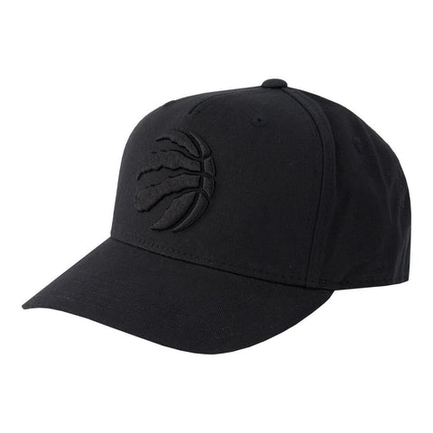 OUTERSTUFF YOUTH TORONTO RAPTORS CURVED SNAP CAP ALTERNATE BLACK/BLACK