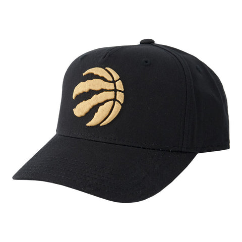 OUTERSTUFF YOUTH TORONTO RAPTORS CURVED SNAP CAP ALTERNATE BLACK/GOLD