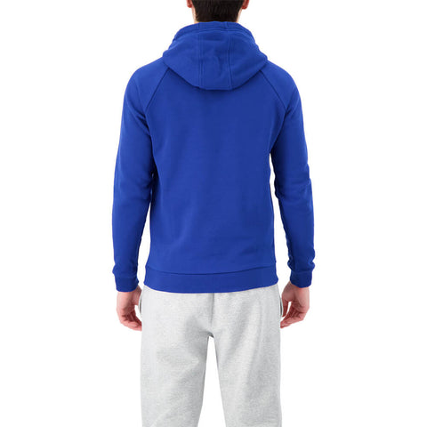 UNDER ARMOUR MEN'S RIVAL FLEECE HOODY AMERICAN BLUE/BLACK