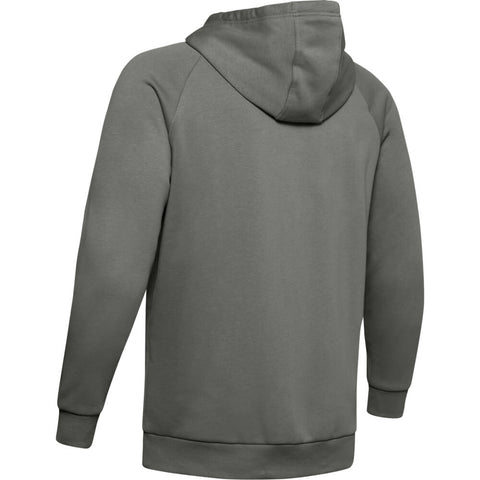 UNDER ARMOUR MEN'S RIVAL FLEECE SPORTSTYLE LOGO HOODY GREEN/BLACK