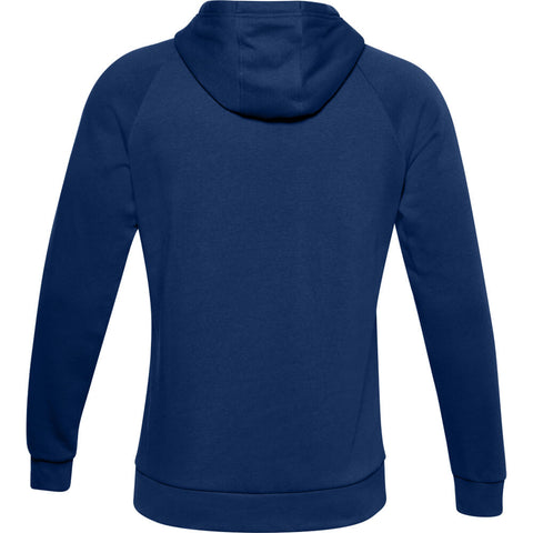 UNDER ARMOUR MEN'S RIVAL FLEECE SPORTSTYLE LOGO HOODY AMERICAN BLUE/WHITE