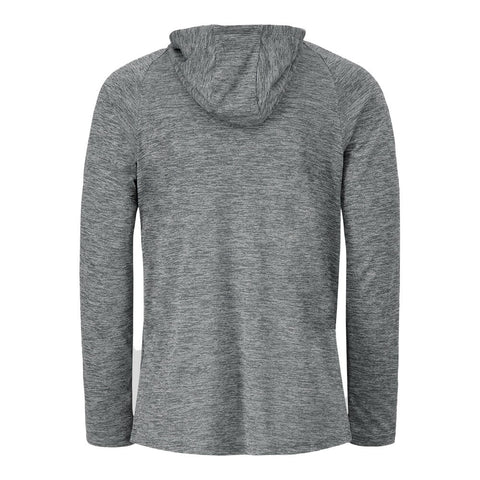 UNDER ARMOUR MEN'S TECH 2.0 HOODY PITCH GREY/BLACK/BLACK