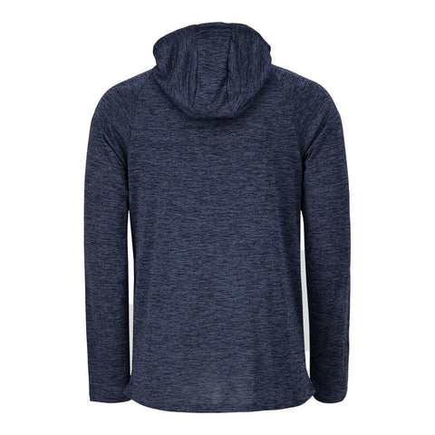 UNDER ARMOUR MEN'S TECH 2.0 HOODY BLUE INK/MOD GREY