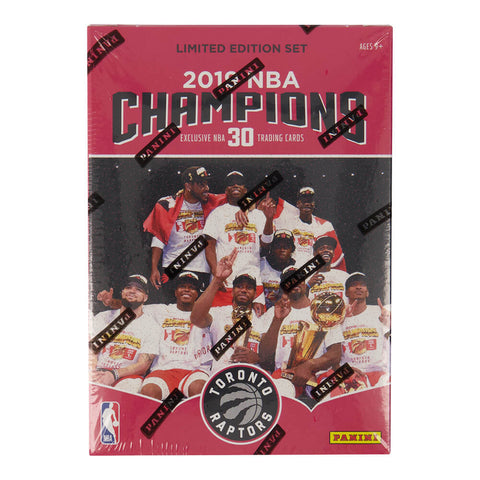 GROSNOR TORONTO RAPTORS 2019 NBA CHAMPIONS TEAM SET