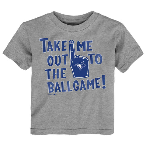 OUTERSTUFF 2-4T TORONTO BLUE JAYS THE OLD BALL GAME SHORT SLEEVE TOP