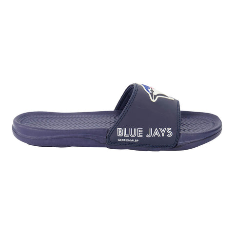 GERTEX MEN'S TORONTO BLUE JAYS SLIDES BLUE