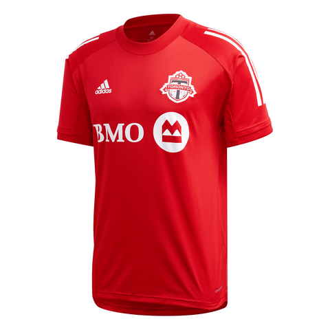 ADIDAS MEN'S TFC TRAINING JERSEY RED