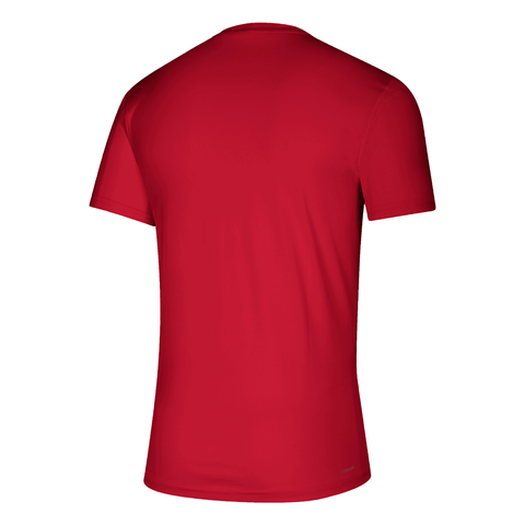 ADIDAS MEN'S TFC WORDMARK GOALS TOP RED