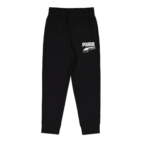 PUMA BOY'S REBEL BOLD PACK ESSENTIAL JOGGERS BLACK
