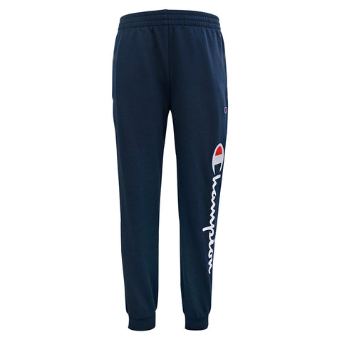 CHAMPION BOY'S FRENCH TERRY GRAPHIC JOGGER NAVY