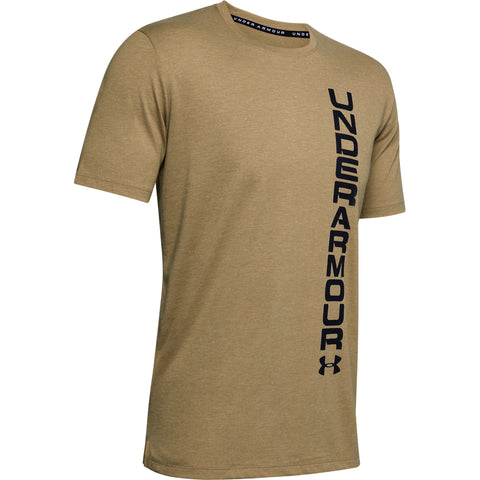 UNDER ARMOUR MEN'S SPORTSTYLE BLOCKED SHORT SLEEVE TOP GREEN