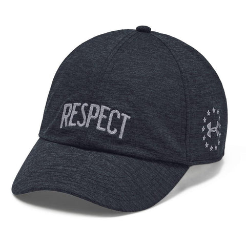 UNDER ARMOUR WOMEN' ROCK RESPECT CAP BLACK