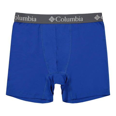 COLUMBIA MEN'S 3 PACK BOXER BRIEF AZURE/GOLD/BLACK