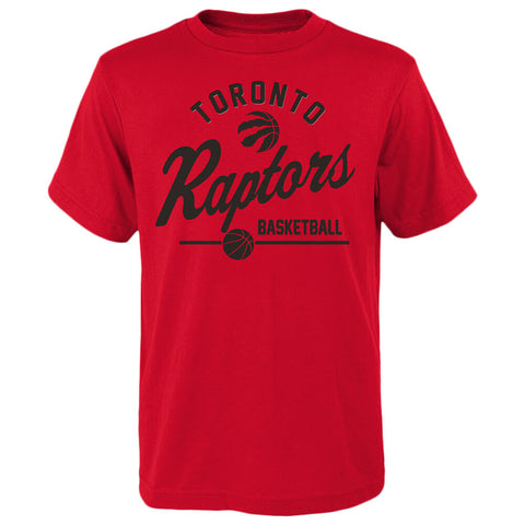 OUTERSTUFF YOUTH TORONTO RAPTORS SPORTS LIFE SHORT SLEEVE TOP RED