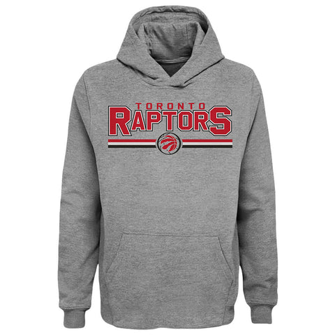 OUTERSTUFF YOUTH TORONTO RAPTORS HEADLINER HOODY HEATHER GREY