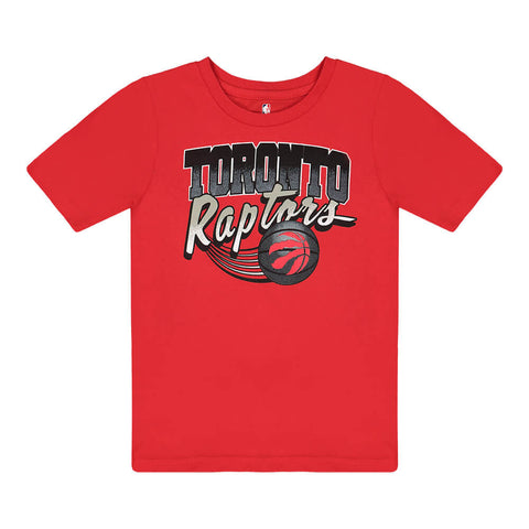 OUTERSTUFF 4-7 TORONTO RAPTORS ACTIVATE SHORT SLEEVE TOP RED