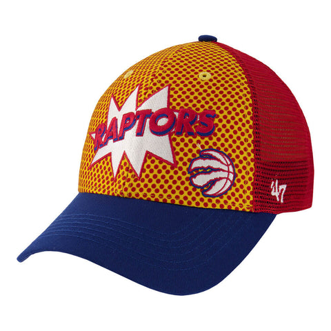 47 BRAND BOYS TORONTO RAPTORS COMIC BOOK 47MVP CAP