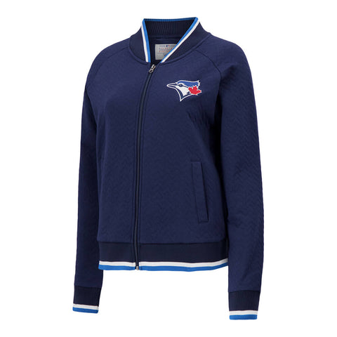 GIII WOMEN'S TORONTO BLUE JAYS TOUCH BACK JACKET