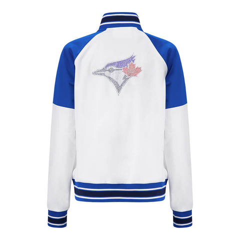 GIII WOMEN'S TORONTO BLUE JAYS FIRST HIT TRACK JACKET