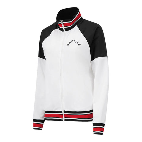 GIII WOMEN'S TORONTO RAPTORS FIRST HIT TRACK JACKET