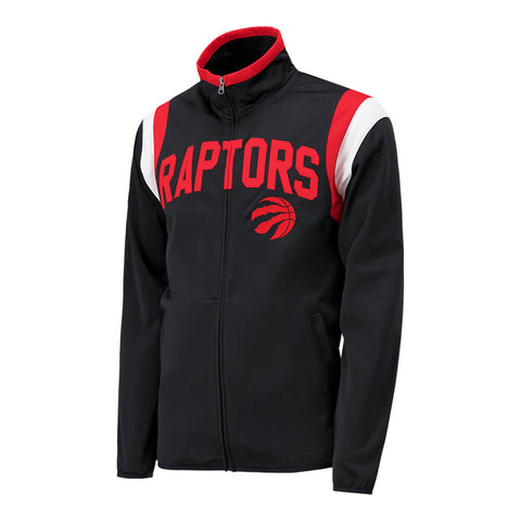 GIII MEN'S TORONTO RAPTORS POST UP TRACK JACKET