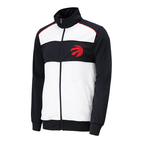 GIII MEN'S TORONTO RAPTORS CROSSOVER TRACK JACKET