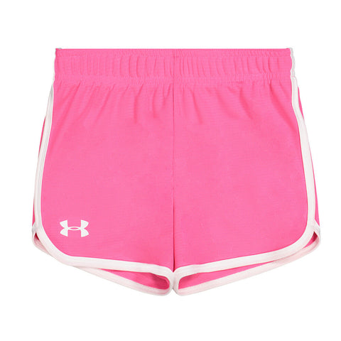 UNDER ARMOUR GIRL'S 0-6X RALLY SHORT PINK SURGE