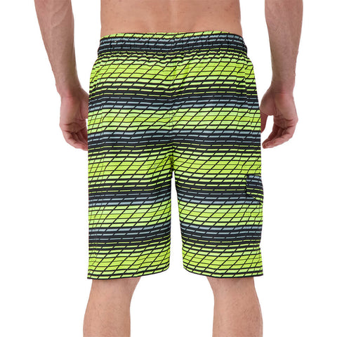 BURNSIDE MEN'S SWIM SHORTS YELLOW
