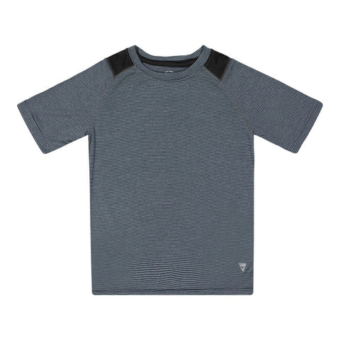 BURNSIDE BOY'S SHORT SLEEVE TEE GREY