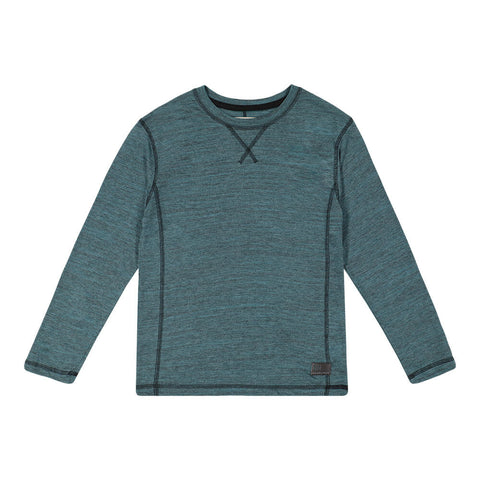 BURNSIDE BOY'S LONG SLEEVE TEE SYCAMORE