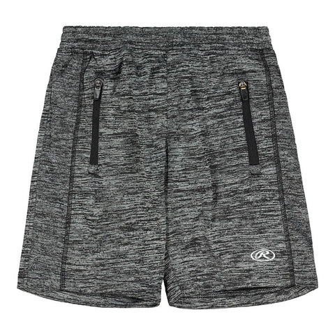 RAWLINGS BOY'S PERFORMANCE FLEECE SHORT BLACK