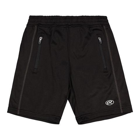 RAWLINGS BOY'S PERFORMANCE FLEECE SHORT NIGHT