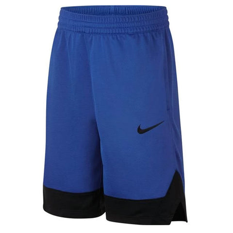 NIKE BOY'S ICON SHORT GAME ROYAL/BLACK/GAME ROYAL/BLACK