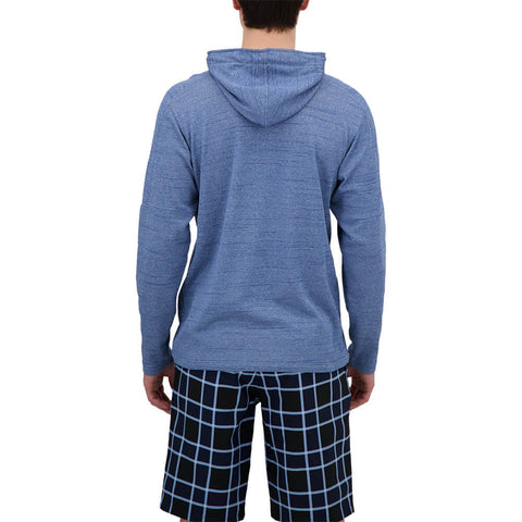 BURNSIDE MEN'S HOODY TRUE BLUE