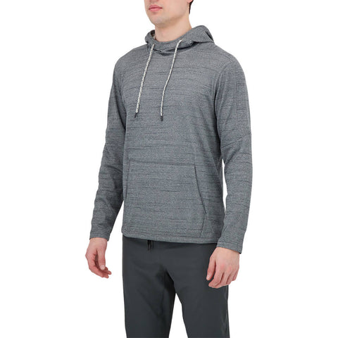 BURNSIDE MEN'S HOODY CHARCOAL