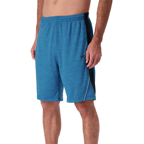 RAWLINGS MEN'S TRACK SHORT FRENCH BLUE