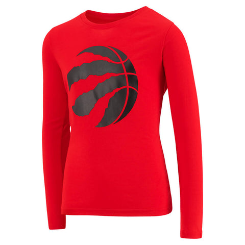 OUTERSTUFF YOUTH TORONTO RAPTORS LOGO LONG SLEEVE ULTRA TOP
