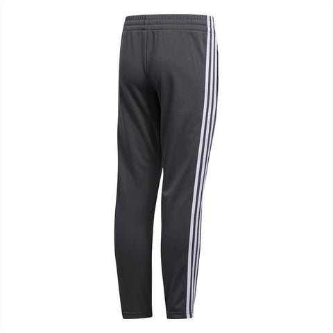 ADIDAS BOY'S 3 STRIPE TRAINER PANT GREY BACK