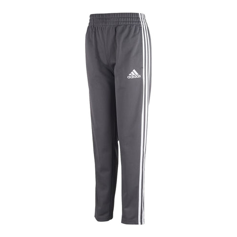 ADIDAS BOY'S 3 STRIPE TRAINER PANT GREY