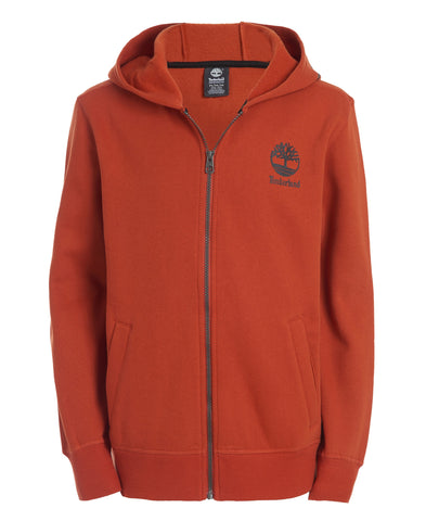 TIMBERLAND BOY'S ANTHONY FLEECE DARK ORANGE