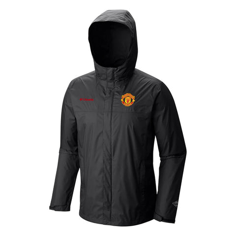 COLUMBIA MEN'S MANCHESTER UNITED WATERTIGHT II JACKET BLACK