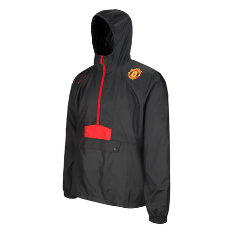 COLUMBIA MEN'S MANCHESTER UNITED FLASHBACK WINDBREAKER BLACK