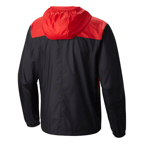 COLUMBIA MEN'S MANCHESTER UNITED FLASHBACK WINDBREAKER CHERRYBOMB