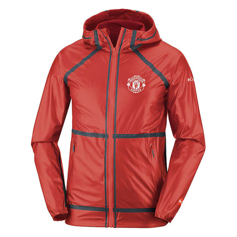 COLUMBIA MEN'S MANCHESTER UNITED OUTDRY EX REVERSIBLE JACKET CHERRYBOMB