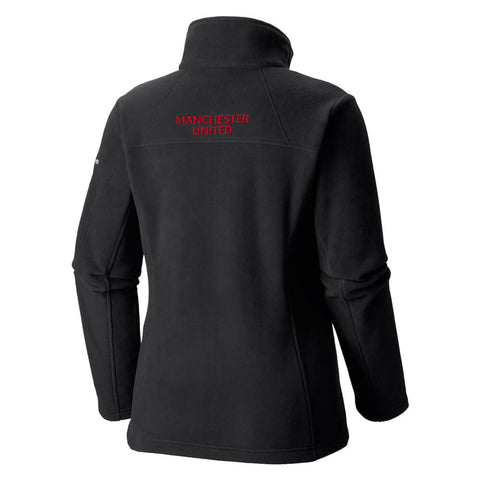 COLUMBIA WOMEN'S MANCHESTER UNITED FAST TREK II FULL ZIP FLEECE BLACK