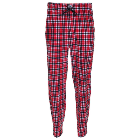 JOE BOXER MEN'S MICROFLEECE PRINTED PANTS FRONT