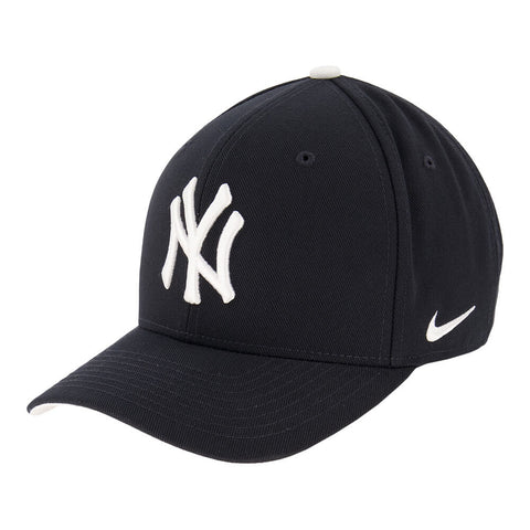 NIKE MEN'S NEW YORK YANKEES CLC99 WOOL ADJUSTABLE CAP BLUE