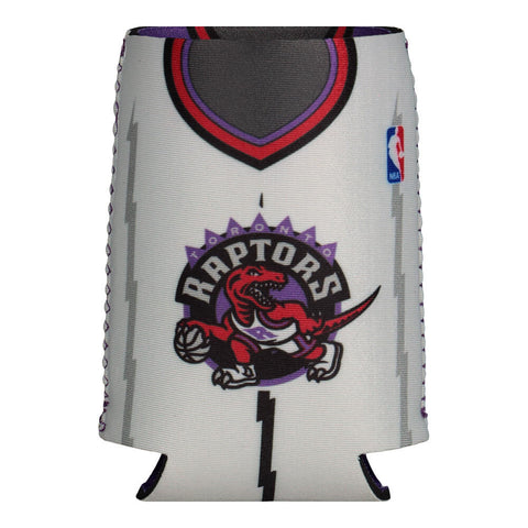 THE SPORTS VAULT TORONTO RAPTORS REVERSIBLE CAN COOLER PURPLE/WHITE